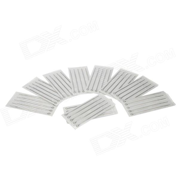 цена на 5M1 Round Liner Tattoo Needles - Silver (50 PCS)