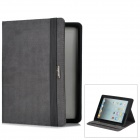 Moshi Protective PU Leather Smart Cover Case for iPad 2 / the New iPad - Grey