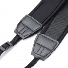 Universal Anti-Skip Neck / Shoulder Strap for DSLR Camera + More - Black