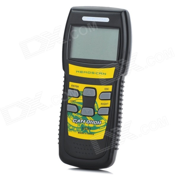 U581 CAN OBDII/EOBDII Memo Scanner with Live Data