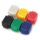 SM-25 DIY Building Block Style ABS Round Hole Breadboards Set
