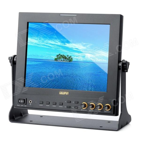 LILLIPUT 969A/O/P Professional 9.7 LED Director Field Monitor - Black lilliput tm 1018 o p 10 1 led ips full hd hdmi field touch screen camera monitor with hdmi input