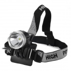 UltraFire 870lm 3-Mode White Crown Head Bike Light Headlamp - Black (4 x 18650)