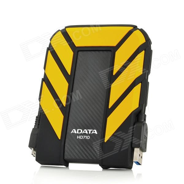 "ADATA HD710 2.5"" USB 3.0 External Mobile HDD Hard Disk Drive Storage Device - Yellow (500GB)"