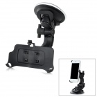 Universal Car Mount 360 Degree Rotatable Suction Cup Holder for Iphone 5 - Black