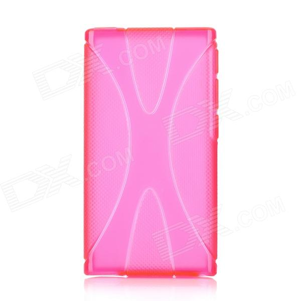 X Style Protective TPU Soft Back Case for Ipod Nano 7 - Deep Pink