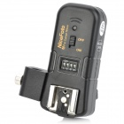 NiceFoto 3-in-1 2.4GHz Wireless Remote Flash Trigger w/ Umbrella Holder for Canon DSLRs (2 x AAA)