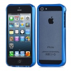 Protective Aluminum Alloy Bumper Frame for iPhone 5 - Blue
