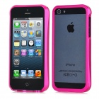 Protective Aluminum Alloy Bumper Frame for iPhone 5 - Deep Pink