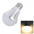 E26 9W 810lm 3500K Warm White 18-SMD 5060 LED Light Bulb - Silver (85~265V)