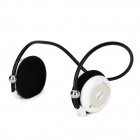 LY-S900-BAISE Bluetooth v2.1 Headphones w/ FM / TF / Microphone - White + Black