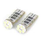 Dianzi DZ-F906C T10 2W 52lm 6-SMD 3528 LED Decoded Car Begrenzungsleuchte (12 ~ 16V / 2 PCS)