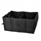 JH-820 Trunk Folding Oxford Fabric Storage Bag - Black