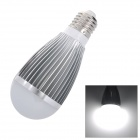 E27 7W 680lm 6000K White 7-LED Light Bulb - Silver (85~250V)