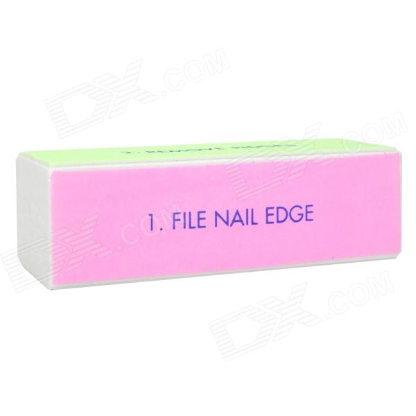 Nail art decoration sponge files manicure tool for Avon nail decoration tool