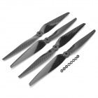 1150 11 x 5 Carbon Fiber Propellers for Multi-axis Aircraft - Black (2 Pair)