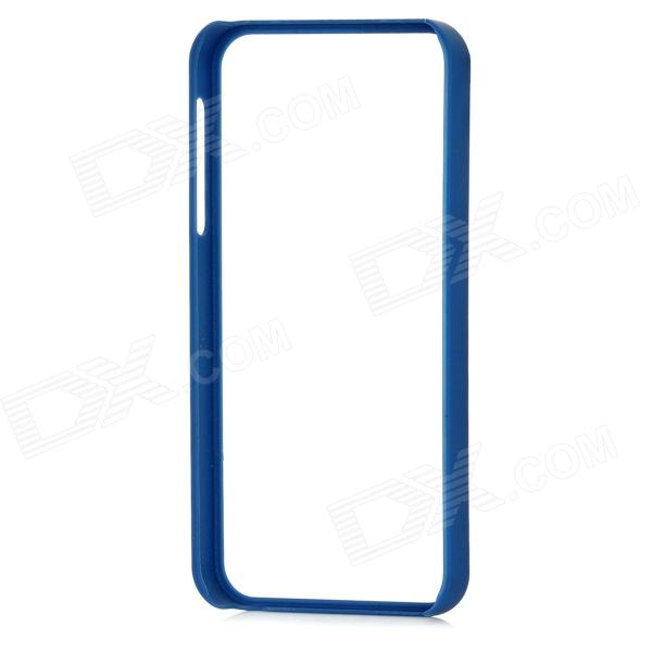 Protective Plastic Bumper Frame for Iphone 5 - Deep Blue стоимость