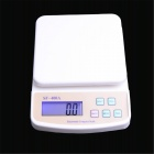 SF-400A 2.7&quot; LED Digital Kitchen Scale - White + Ivory (2 x AA)