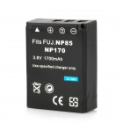 NP85 Replacement 3.6V 1700mAh Battery Pack for FujiFilm SL240 / SL260 / SL280 + More - Black