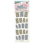 Buy GT-010 3D Leopard Pattern Glitter Nail Stickers (19 PCS)