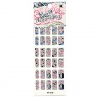 GR-059 3D Cute Animal Pattern Glitter Nail Stickers (30 PCS)