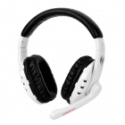 Somic G927 Game Virtual 7.1-Channel Headphone w/ Microphone - White + Black (USB Plug / 220cm)