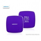 MOMAX iPower M2 Portable 6400mAh Dual USB Emergency Battery Pack for iPhone + More - Purple