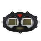 DIY Motorcycle LCD Display Instrument Panel w/ Clock / Odometer / Incoming Call Reminding