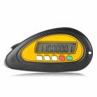 "Digital 1.6"" Screen Map Distance Measurement Meter - Black + Yellow (1 x CR2032)"