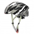 LIMAR 737 Cycling Road Bike PC + EPS Helm w / Insect Net + Dial Anti-Clockwise - Black + Silver