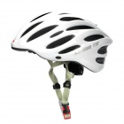 LIMAR 737 Cycling Road Bike PC + EPS Helmet w/ Insert Net + Dial Anti-Clockwise - White