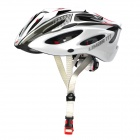 LIMAR 777 Cycling Road Bike PC + EPS Helmet w/ Insect Net + Dial Anti-Clockwise - White + Black