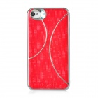 Newtons Protective Plastic Back Case for Iphone 4 / 4S - Red