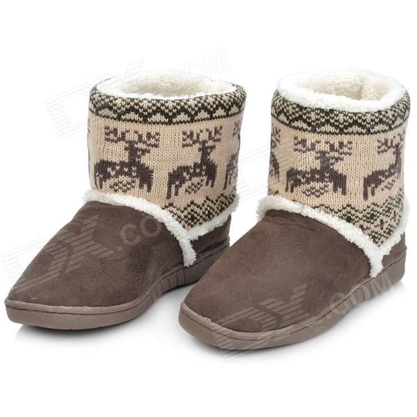 Fawn Warm Women's Snow Boots - Brown ( Size 37) fawn warm women s snow boots brown size 37