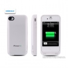 MOMAX 2200mAh External Battery Case für iPhone 4 / 4S - Weiss