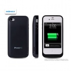 MOMAX 2200mAh External Battery Back Case for iPhone 4 / 4S - Black