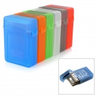 "Databus BOX250 2.5"" Dual HDD Plastic Cases Set - Red + Orange + Blue + White + Grey + Green (6 PCS)"