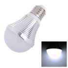 SENCART E26 9W 756~810lm 6500K 18-SMD 5060 LED White Light Bulb - Silver (85~265V)
