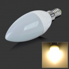 E14 2W 108lm 3500K 18-SMD 3014 LED Warm White Bulb - White (85~265V)