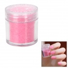 BK BK-21 Flocking Velvet Manicure Art Polish Nail Powder - Light Pink