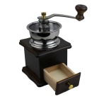 High Quality Manual Coffee Grinder - Black