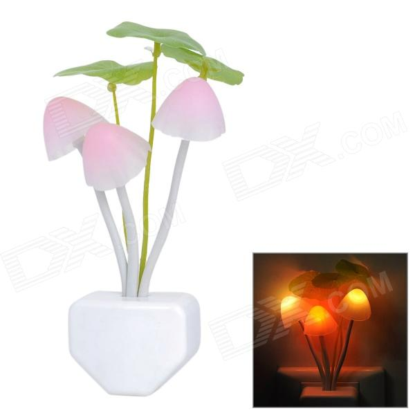 Light Sensor Activated 0.2W 3 LED Colorful Light Night Lamp