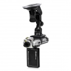 "DOD F900LS 2.5"" CMOS HD 5.0MP Adjustable Wide Angle Car DVR Camcorder w/ Microphone - Silver"
