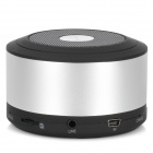 MKBSN8-002 Mini 2.1-Channel Bluetooth v3.0 Speaker w/ TF - Silver + Black