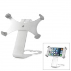 E-012 360 Degree Rotation Aluminum Bracket Holder for Iphone 5 - Silver