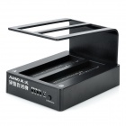 "K304 USB 3.0 Dual 2.5"" / 3.5"" HDD Docking Station - Black (Max. 3TB)"
