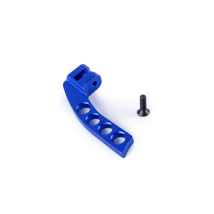 Aluminum Alloy 3-Hole Transmitter Neck Strap Balancer for JR Futaba - Blue