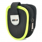 Outdoor Sports Bike Handle Waterproof Bar Bag w/ Clip for Mobile Phones - Green + Black