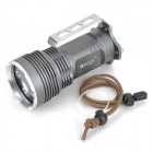 RUSTU R40S 4000lm 5-Mode White Flashlight - Grey (4 x 18650)