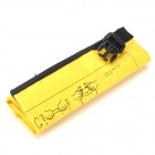 Outdoor Sports PVC Waterproof Dry Bag for Floating / Boating / Camping - Yellow (5L)